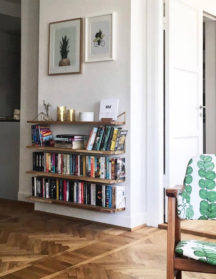15 идей для обустройства мини-библиотеки