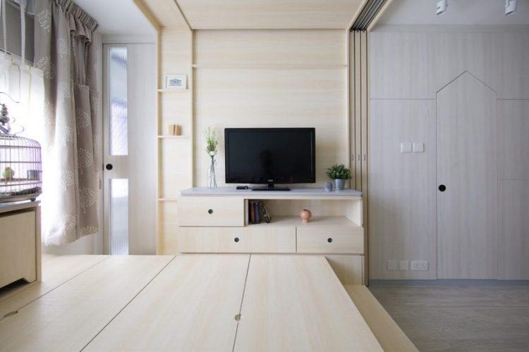 Квартира-трансформер для молодой пары с питомцами