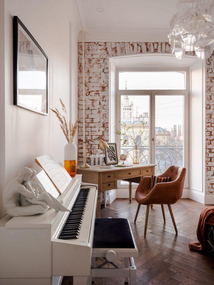 Квартира в дореволюционном доме в центре Москвы