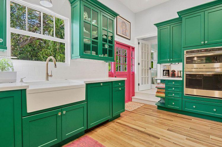 Трендовые цвета и стили для кухонь в 2019 году
