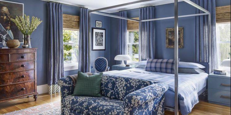 Много синего не бывает: дизайн комнат в трендовом цвете