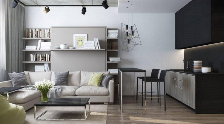 Обустройство небольшой кухни-гостиной: фото и рекомендации дизайнеров