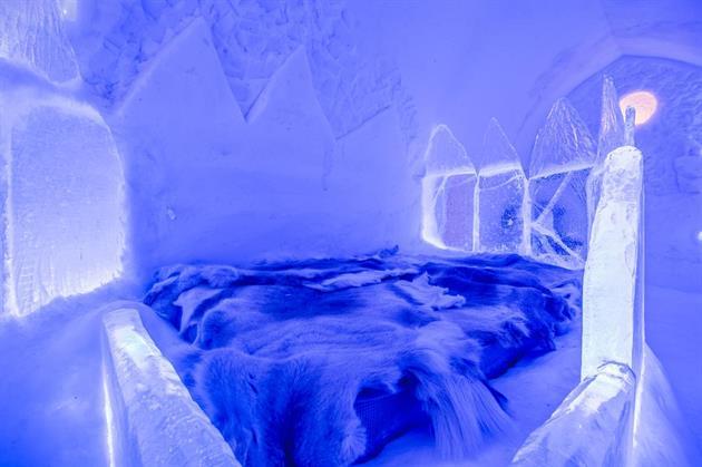 Топ-10 самых известных ледяных гостиниц мира