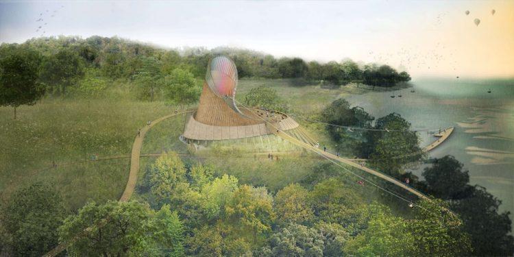Студия Eden Project разработала экологический курорт в Северной Ирландии