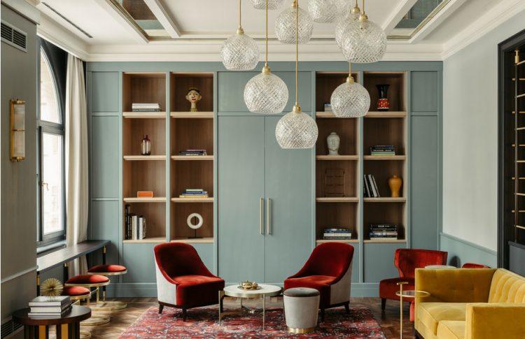 Во Франкфурте открыли бутик-отель, где сплелись приметы разных эпох