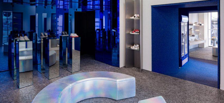 blue shoes shop