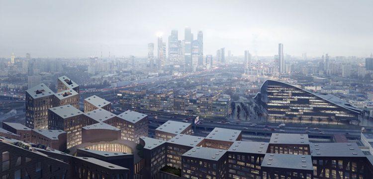 Нью-йоркская архитектурная фирма выиграла конкурс на комплексную застройку в России