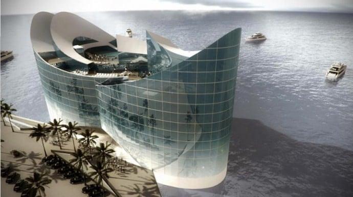В Катаре построят временные плавучие отели
