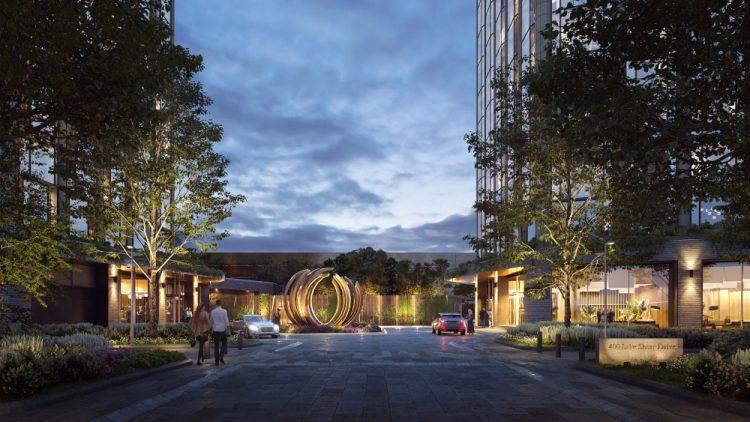 "Дэвид Чайлдс обновил дизайн башен для ""Чикагского Шпиля"""