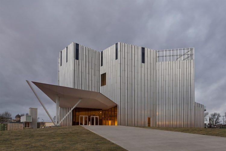Новый дом для Центра современного искусства Оклахомы