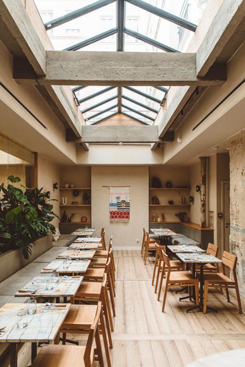 Безмятежная обстановка: отель Hoy в Париже