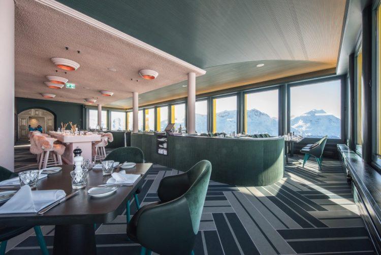 Водонепроницаемые полы Flotex для интерьеров горнолыжных курортов