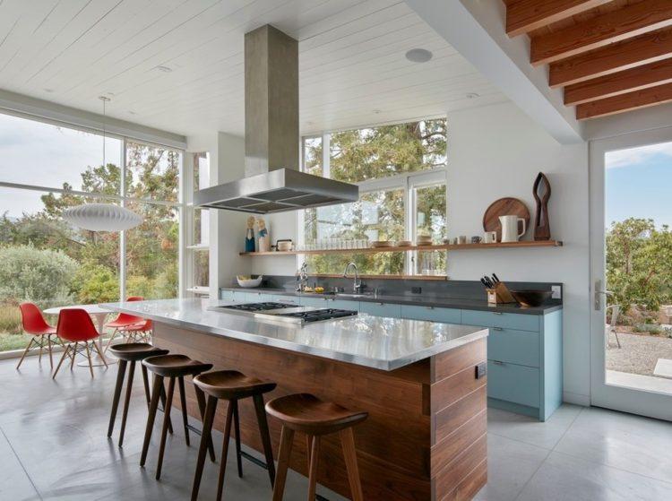 Просторное ранчо в Калифорнии по проекту Malcolm Davis