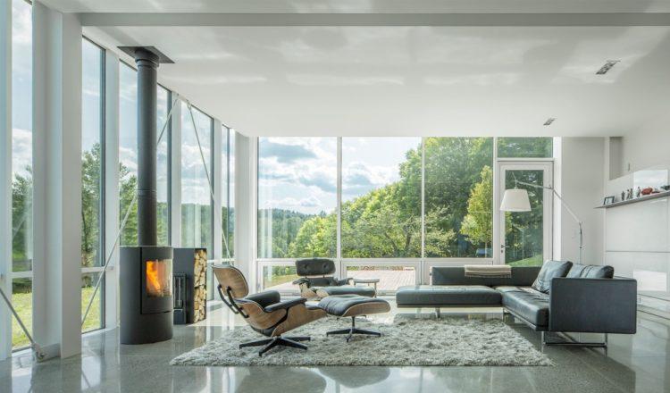 Трехэтажный дом в Зеленых горах Вермонта