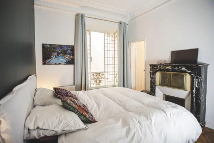 Парижская квартира с античным декором