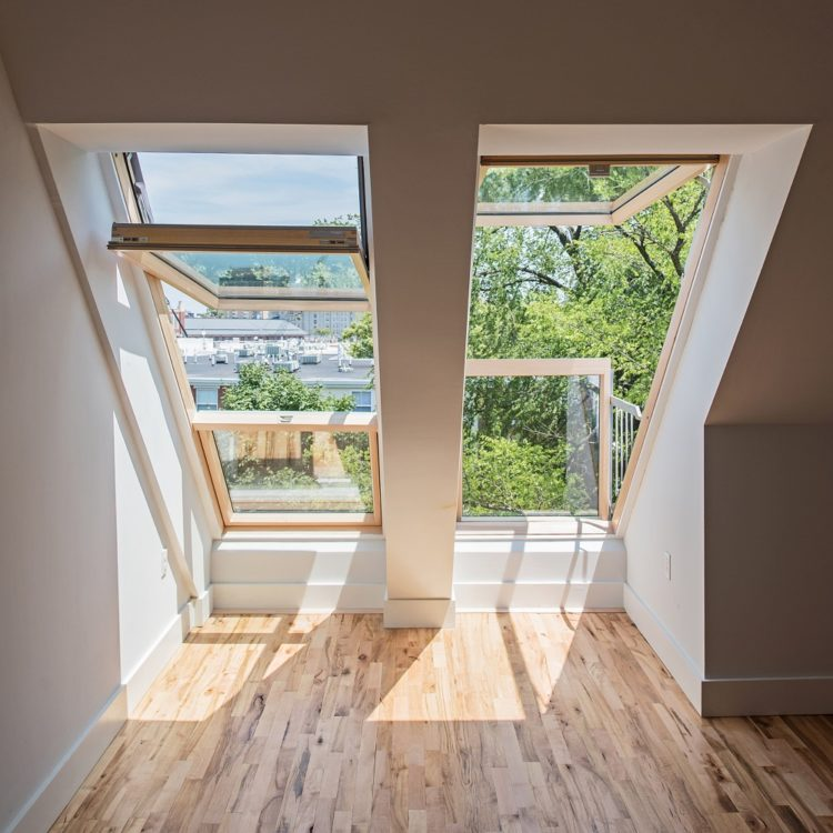 В Ричмонде с помощью мансардных окон создали дополнительный этаж