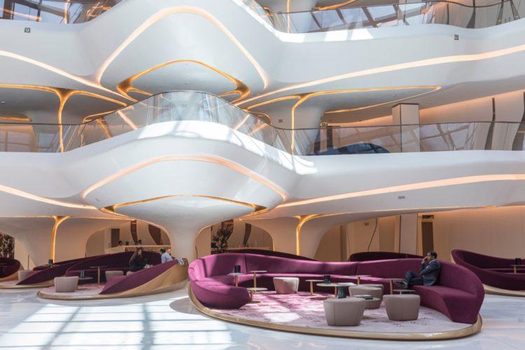 Появились фото интерьеры отеля ME Dubai