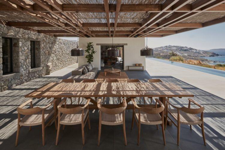 Каменный дом для отдыха на Миконосе