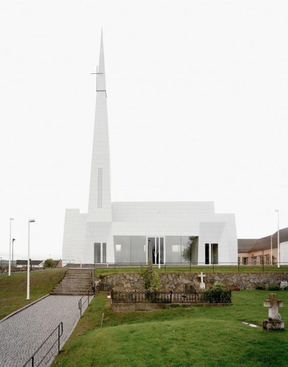 """В Норвегии появилася церковь с очень современной """"внешностью"""""""
