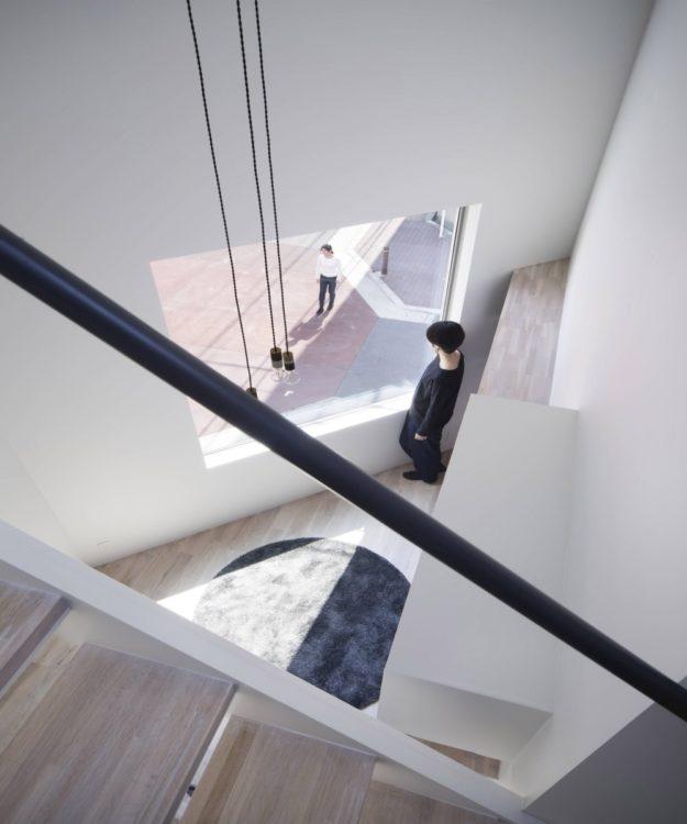 Архитектура от Swing: красивый дом в Осаке для офисных работников