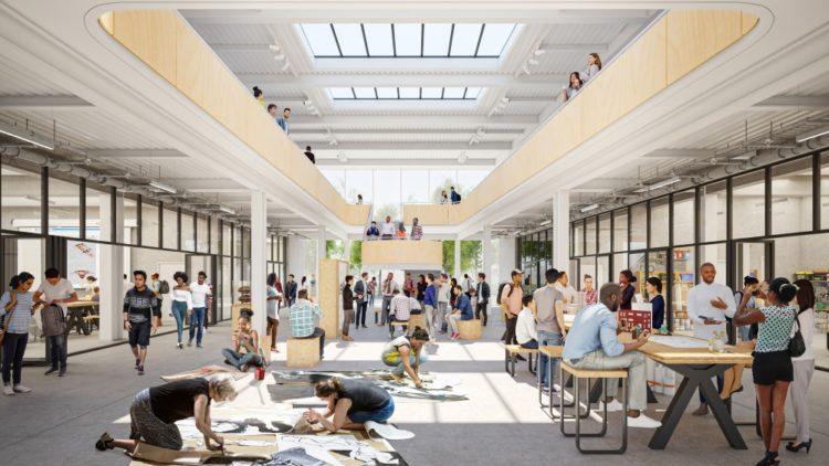 Художественный комплекс для колледжа Санта-Моники