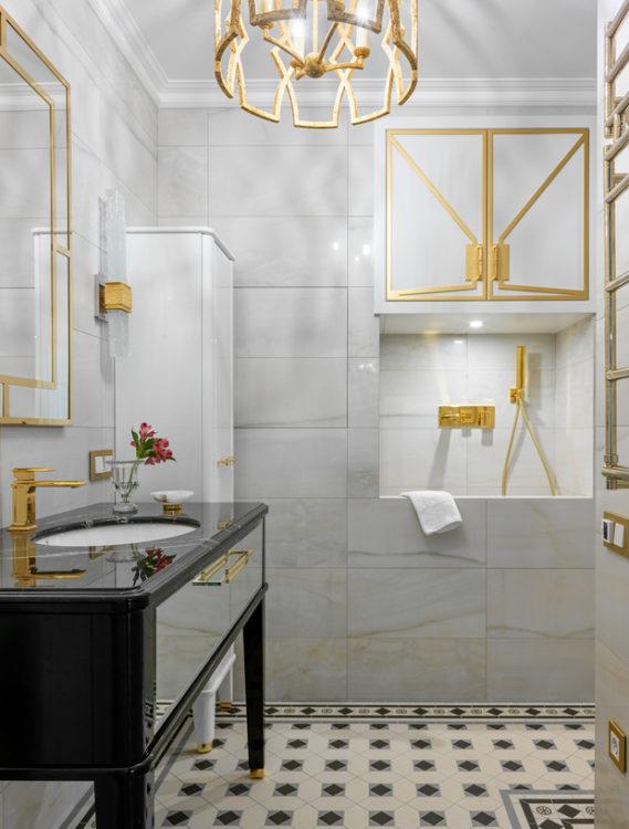 Городской релакс для двоих: роскошная большая квартира в Москве
