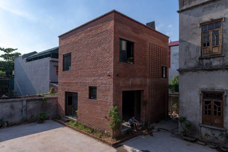 Дом во Вьетнаме с крыйшей для выращивания еды