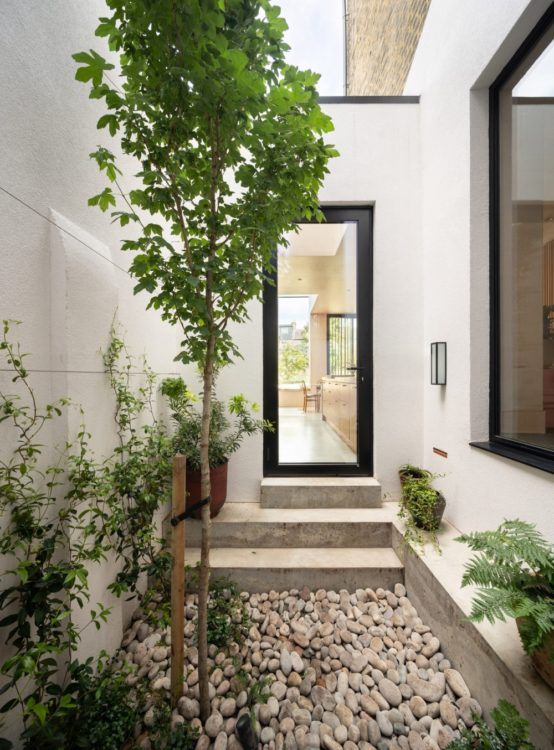 Дом в Лондоне с японским двориком