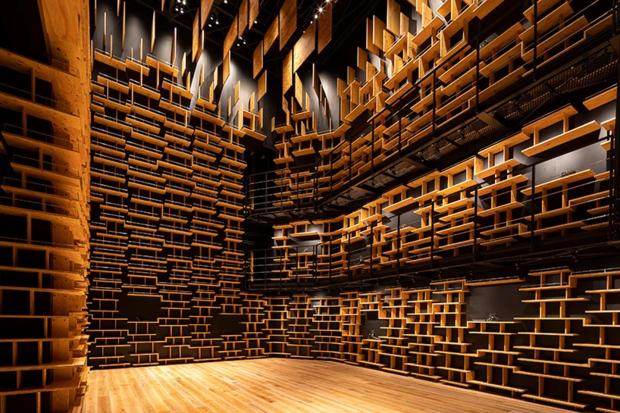 Музей в Японии по проекту Кенго Кумы