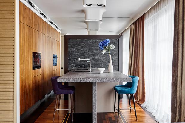Маленькая квартира для холостяка: яркий пример