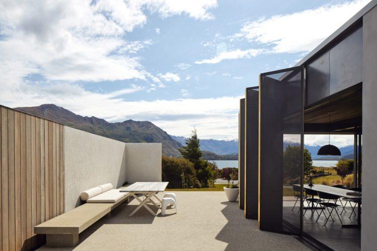 Дом для отдыха в Новой Зеландии от Fearon Hay Architects