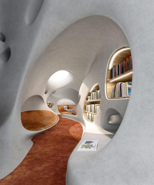 """Библиотека в Хайкоу, """"выходящая за пределы времени и пространства"""""""