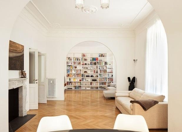 Очаровательная квартира в историческом доме в Риме