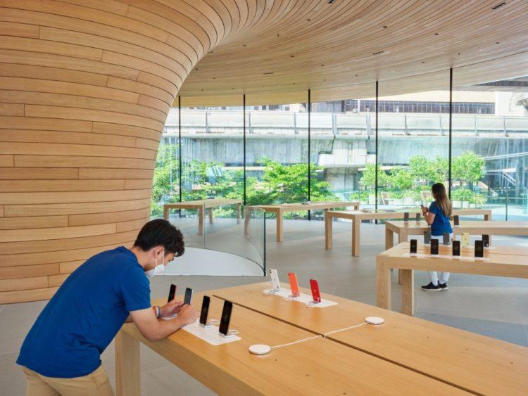 Интересное решение: новый магазин Apple Store в Бангкоке
