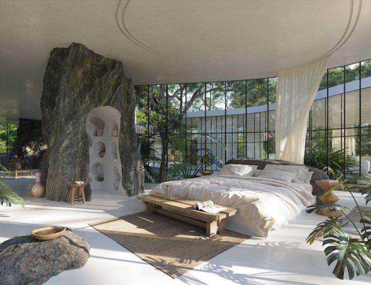 """Casa Atibaia - """"вымышленный модернистский дом в джунглях"""""""