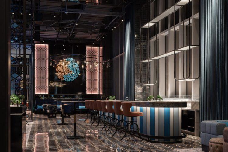 Новый отель с каютами Intercontinental Chongqing Raffles City в Китае