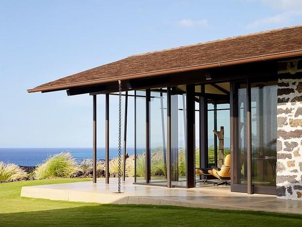 Современный дом, вдохновленный гавайской культурой