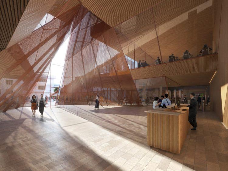 Компания Snøhetta раскрыла планы строительства новой мэрии Чхонджу