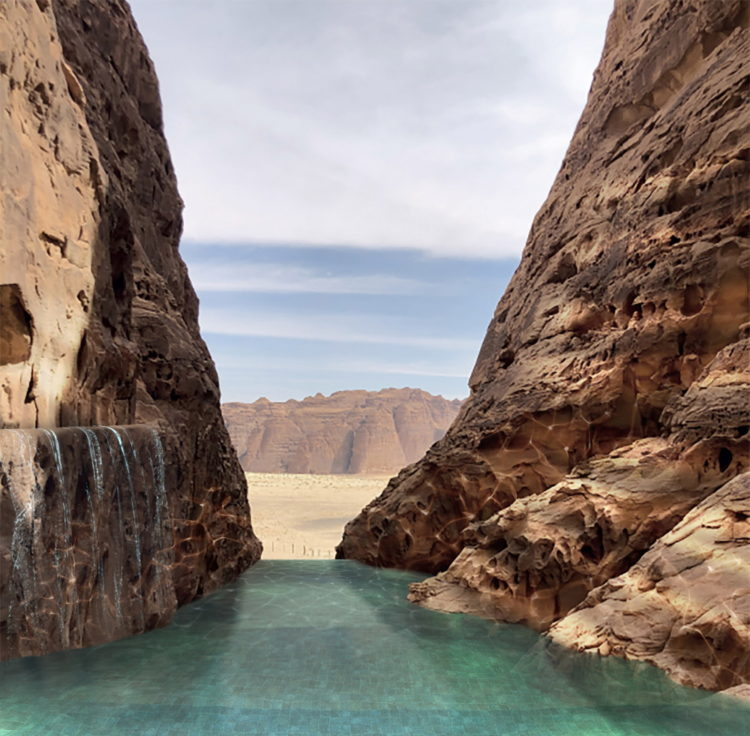 Палаточный курорт в пустыне Аль-Ула в Саудовской Аравии