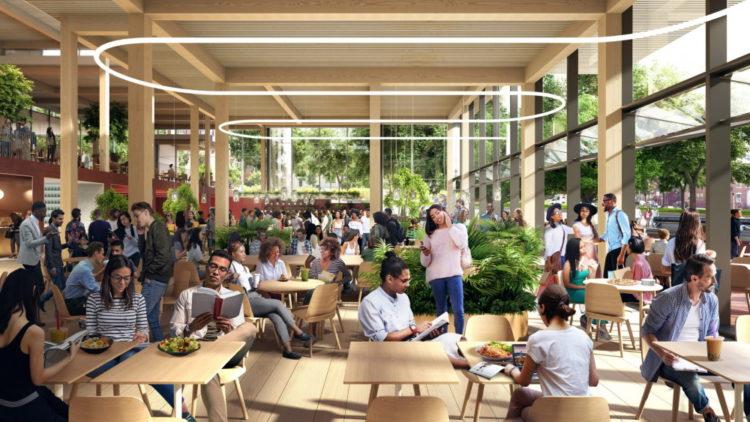 Компания BIG спроектировала студенческий центр The Village для Университета Джона Хопкинса