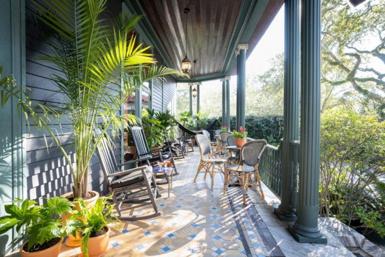 Необычные интерьеры для отеля Chloe в Новом Орлеане