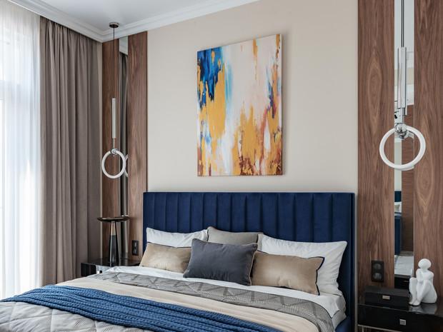 Домашнее умиротворение: московская квартира в пастельных тонах