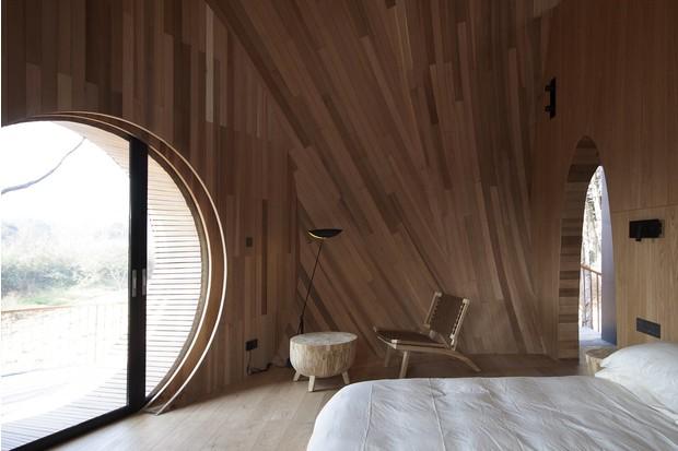 Архитектурное искусство: домики-грибы для отеля Tree Wow в Китае